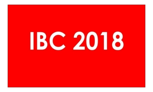 Book your room @ IBC 2018