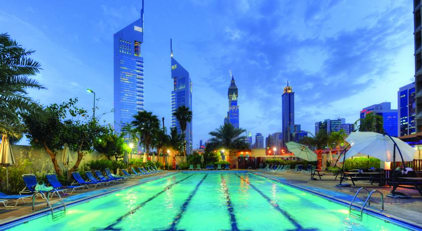 Book a cheap room in The Apartments, Dubai World Trade Centre Hotel Apartments